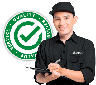 Friendly customer service by Alsco Singapore