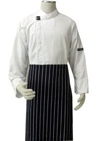 Alsco Navy Polycotton Wasit Apron