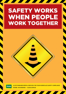 Safety when people work together