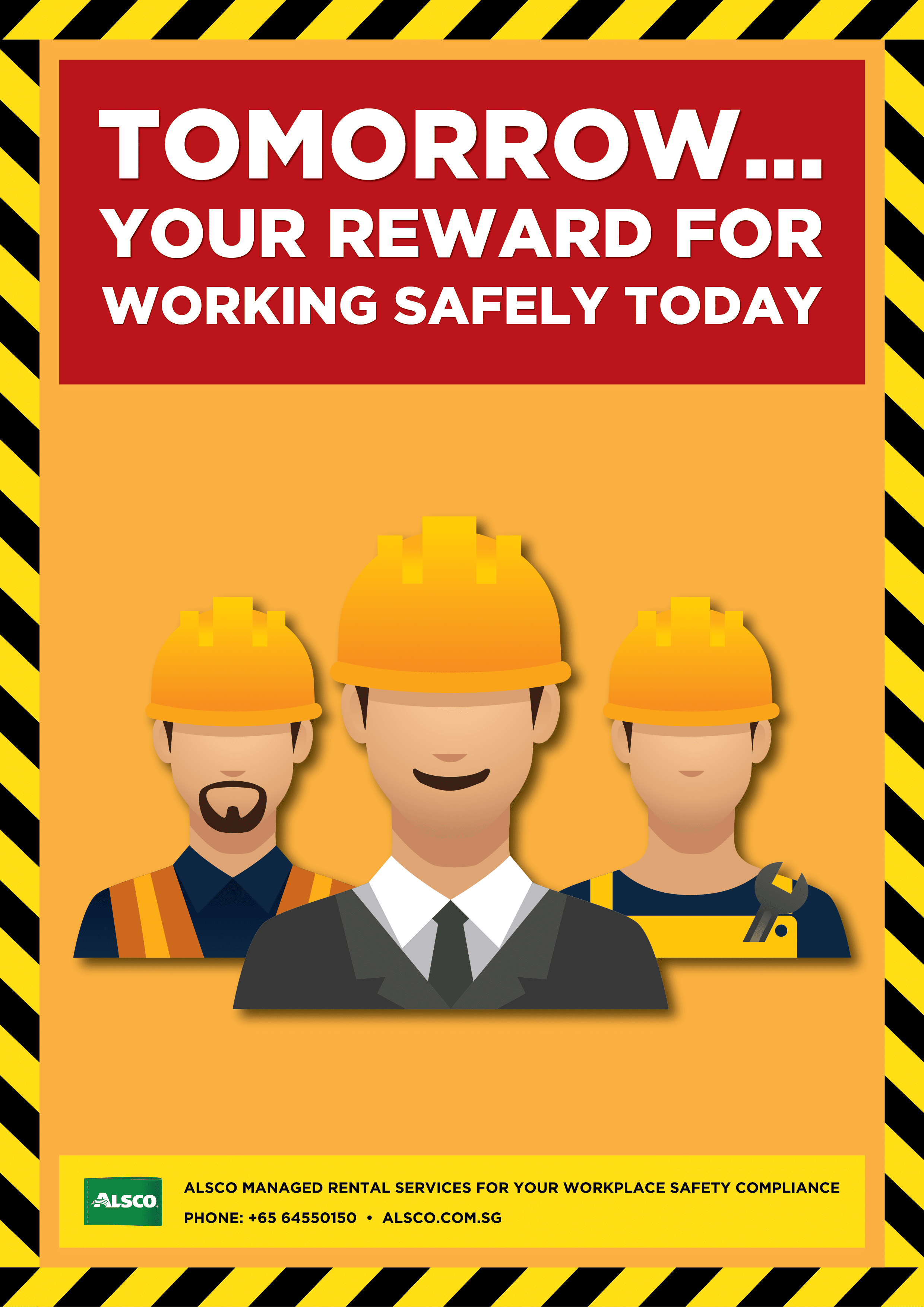 graphic about Free Printable Safety Posters named Office environment Stability Posters Downloadable and Printable Alsco