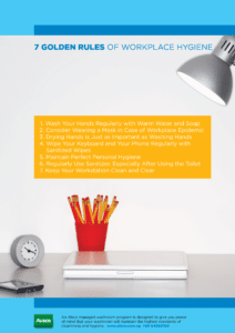 Golden Rules for Workplace Hygiene