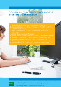Stop The Germ Invasion at the Workplace