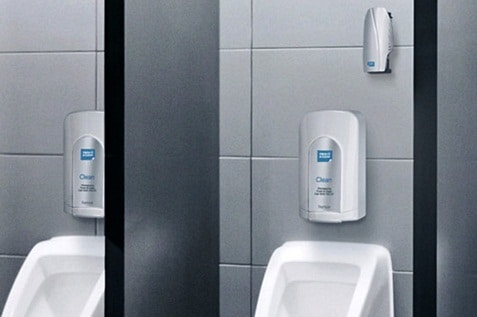 Alsco odour control and hygiene services are perfect for your company washroom