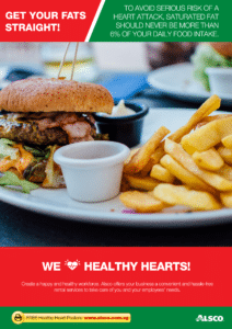 Workplace Resource: Heart Health - Avoid saturated fats