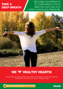 Workplace Resource: Heart Health - Take a deep breath