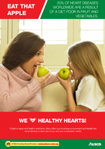 Workplace Resource: Heart Health - Eat that apple