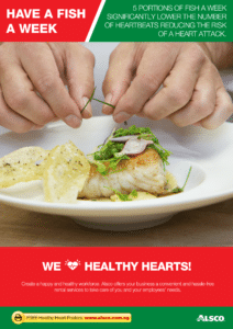 Workplace Resource: Heart Health - Eat fish each week