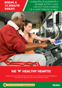 Workplace Resource: Heart Health - Break a 10-minute sweat