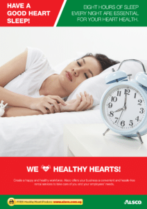 Workplace Resource: Heart Health - Have a good sleep