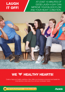 Workplace Resource: Heart Health - Have a good laugh