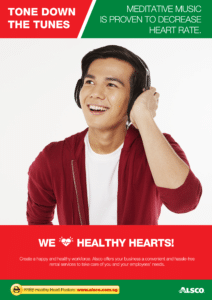 Workplace Resource: Heart Health - Meditate with music