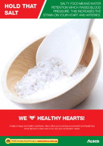 Workplace Resource: Heart Health - Reduce Salt Intake