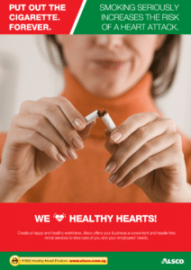 Workplace Resource: Heart Health - Stop smoking