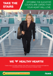 Workplace Resource: Heart Health - Take the stairs