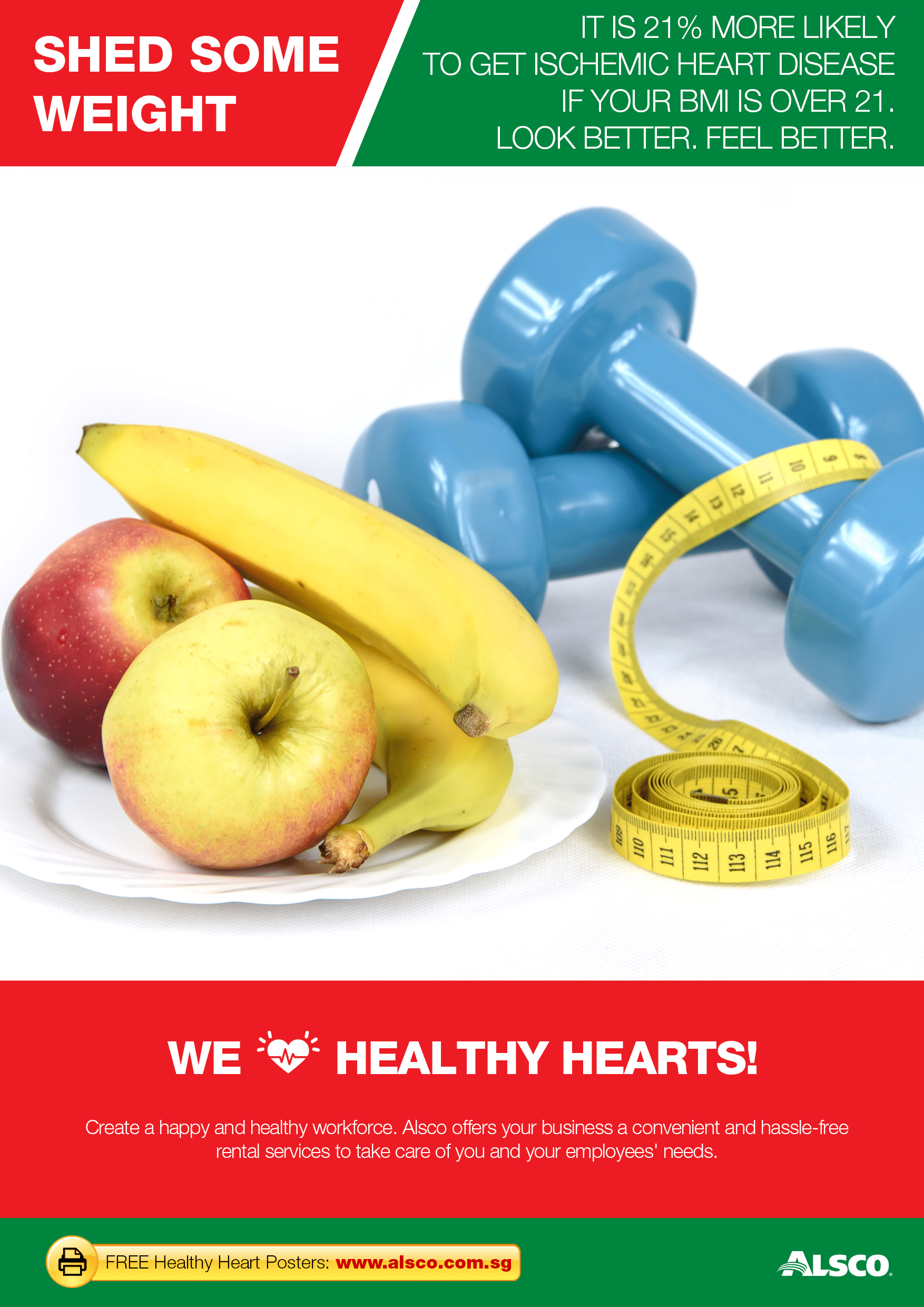 Workplace Heart Health Posters | Workplace Downloadables | Alsco
