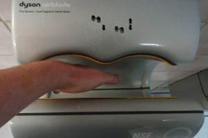 Colour gray hand drying machine