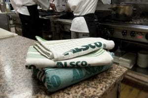 Alsco high-quality tea towels