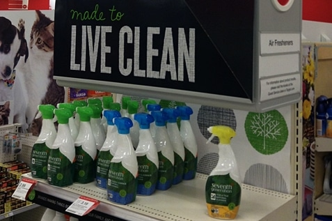 Eco-friendly cleaning materials