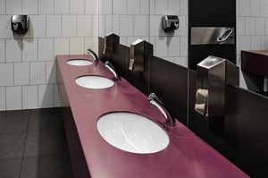 Clean washroom for daily use