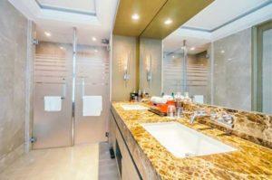 Modern, Eco-Friendly Clean Washroom