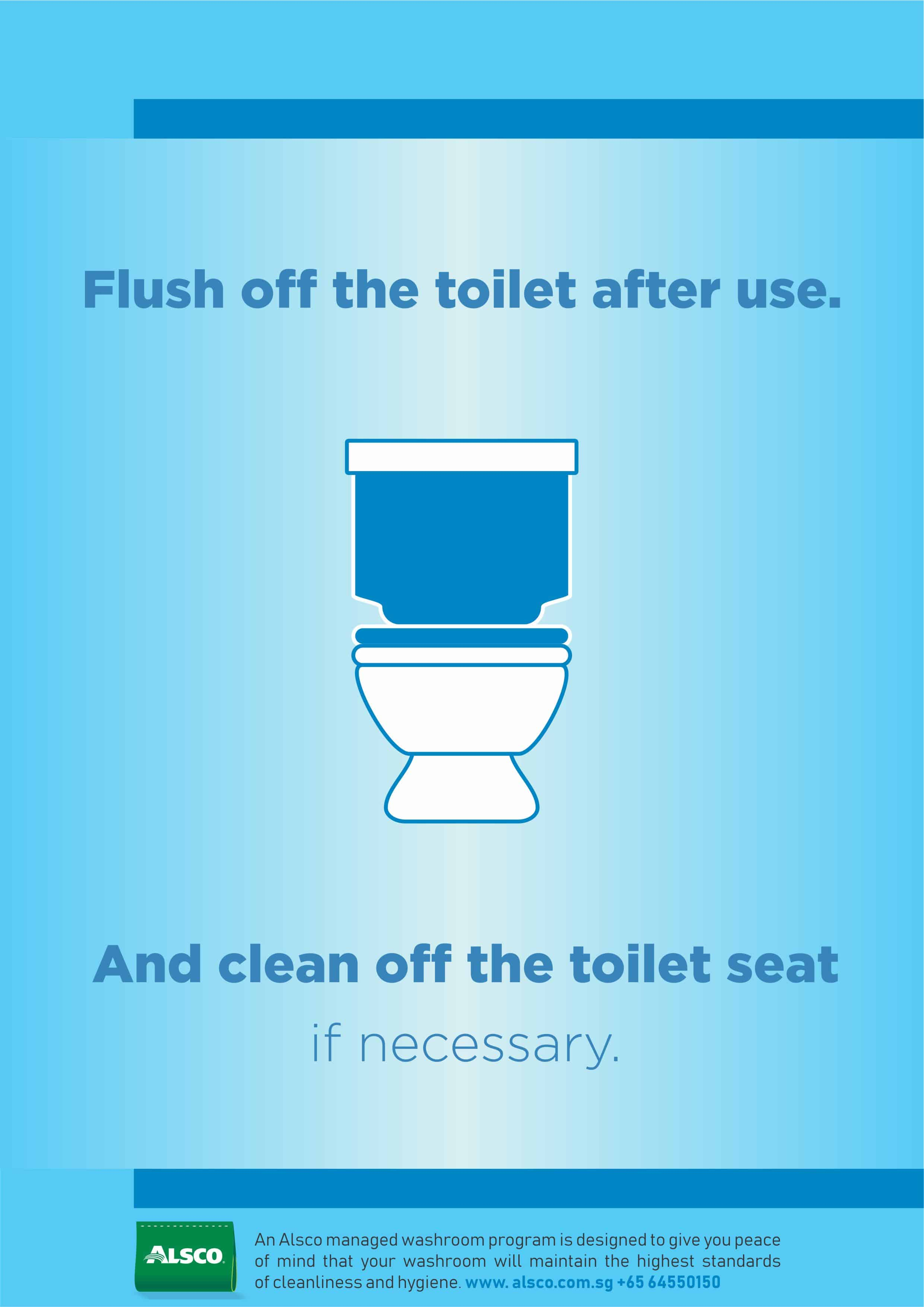 Sg Flush Off Toilet After Use A4 Alsco