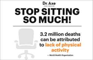 Stop Sitting So Much infographic