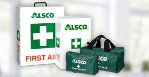 Alsco First Aid kit and bags