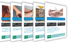 combined hand hygiene posters