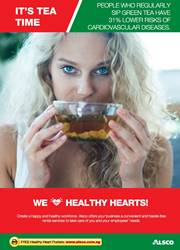 Workplace Resource: Heart Health - Sip Green Tea