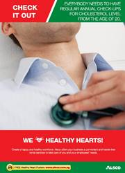 Workplace Resource: Heart Health - Regular check-up