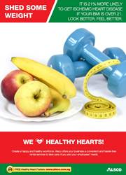 Workplace Resource: Heart Health - BMI Loose weight