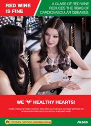 Workplace Resource: Heart Health - Drink Wine